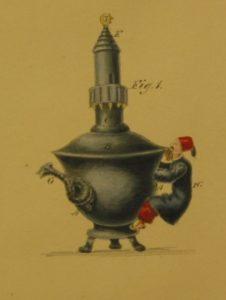 Alexis' first design for his Crimea tea-pot