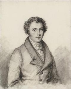 Pencil drawing Portrait of James Jemmett Esq