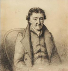 Portrait of an older man  1828